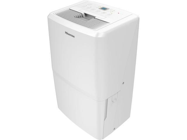 Hisense 50.1-Pint Portable Dehumidifier White CDH-50K1SFRE