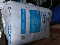 Cement for sale - 25 bags x 25kg available