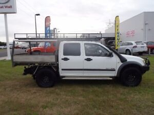 2003 Holden Rodeo White Manual Utility