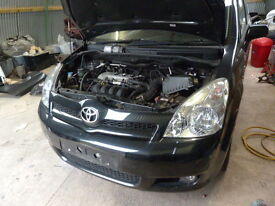 TOYOTA COROLLA VERSO 1.8VVTI 2006 7 SEATER BREAKING FOR PARTS SPARES OR REPAIR NON RUNNER