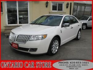 2011 Lincoln MKZ AWD NAVIGATION LEATHER SUNROOF