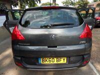 PEUGEOT 3008 1.6 EXCLUSIVE HDI 5d AUTO 112 BHP (grey) 2010