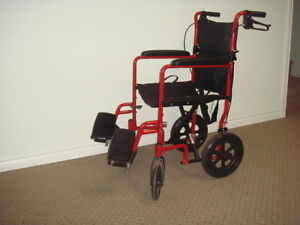 Wheelchair/ Transport chair.