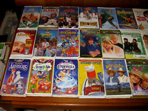 Great Children's Animated VHS Videos & Films