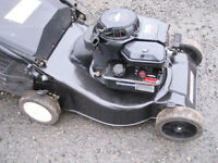 petrol lawn mower-briggs and stratton classic engine-Metal deck with grass box