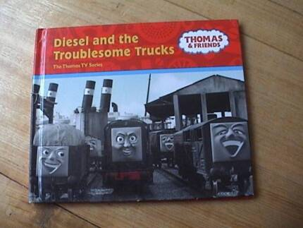Diesel and the troublesome Trucks Book Thomas and Friends