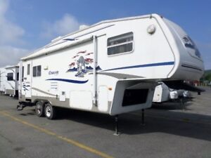 "Caravane VR Fifth Wheel Keystone Cougar 276 27'6"" 2005"