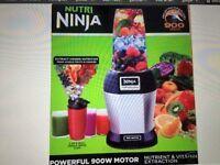 As new Nutri Ninja 900w smoothie maker-£50