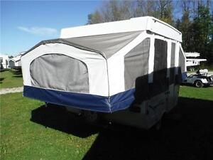 2009 Real Lite 801 8' Tent Trailer - Sleeps 5 - only 1539LBS!! Stratford Kitchener Area image 3