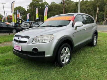 2008 Holden Captiva CG MY09 SX (FWD) Silver 5 Speed Automatic Wagon Clontarf Redcliffe Area Preview