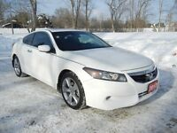2012 Honda Accord EX-L V6 2dr Coupe- NAVI, LEATHER AND LOADED!