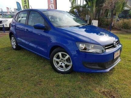 2012 Volkswagen Polo 6R MY12.5 66TDI DSG Comfortline Blue 7 Speed Sports Automatic Dual Clutch