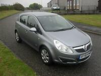 Vauxhall Corsa Club 2009 1.4 ONLY 27240Mls MOT 30/4/17 5 Dr Silver 1 Pre Owner
