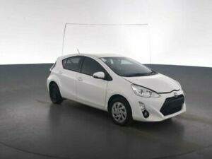 2015 Toyota Prius c NHP10R E-CVT Glacier White Constant Variable Hatchback Geebung Brisbane North East Preview