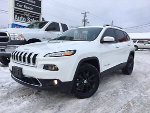 2015 Jeep Cherokee Limited 4X4 / FULLY LOADED / FOR ONLY $29 995