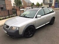 Audi Allroad 2.5 TDI Quattro 5dr,2003, Estate,6 SPEED,3 owners,FULL SERVICE HISTORY,2 KEYS,HPI CLEAR