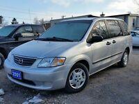 2001 Mazda MPV Wagon cert&etested