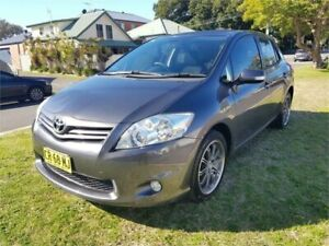 2010 Toyota Corolla ZRE152R MY10 Ascent Grey 6 Speed Manual Hatchback Broadmeadow Newcastle Area Preview