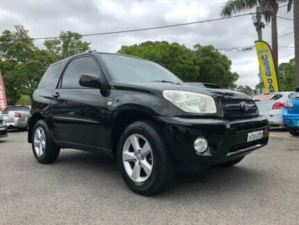 2005 Toyota RAV4 ACA22R CV Sport Black 5 Speed Manual Wagon Sutherland Sutherland Area Preview