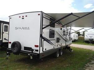 2017 Solaire 240BHS Travel Trailer w Bunkbeds & O/S kitchen Stratford Kitchener Area image 3