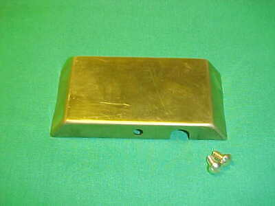Webster M Mm Magneto Terminal Cover Hit Miss Gas Engine Flywheel Throttle Brass