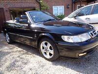 ** VERY CLEAN EXAMPLE FOR A 2001 SAAB 2.0 TURBO SE CONVERTIBLE DRIVES GREAT ***