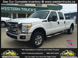 2013 Ford F-350 FX4 4x4 Longbox ~ Tow Package ~ $0 Dn $203 B/W\
