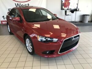 2015 Mitsubishi Lancer SE AWD 2.4L *LOW KMS*SUNROOF/HEATED CLOTH
