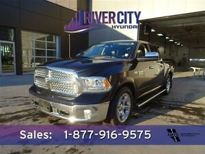 2013 Ram 1500 4WD CREWCAB LARAMIE Navigation (GPS),  Leather,  H