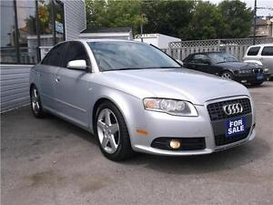 2008 AUDI A4 2.0T SE QUATRO TURBO 6 SPEED LEATHER GLASS ROOF
