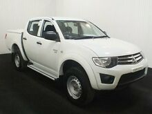 2011 Mitsubishi Triton MN MY11 GLX (4x4) White 5 Speed Manual 4x4 Dual Cab Utility Salisbury Plain Salisbury Area Preview
