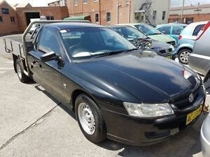 2005 Holden Commodore VZ ONE Tonner Black 4 Speed Automatic Cab Chassis Georgetown Newcastle Area Preview