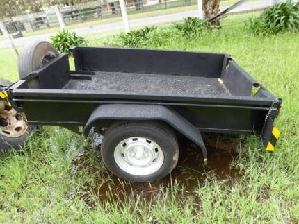 2... Box and motor bike trailers 6 ft. x 4 ft Petersham Marrickville Area Preview