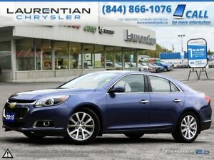 2015 Chevrolet Malibu LTZ-HEATED/COOLED SEATS!! LEATHER!! SUNROO