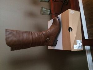 Spring Brown Boots - new