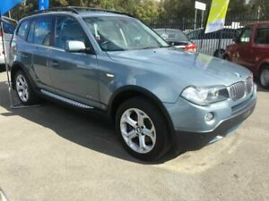 2008 BMW X3 E83 MY09 xDrive20d Steptronic Lifestyle Blue 6 Speed Automatic Wagon Underwood Logan Area Preview