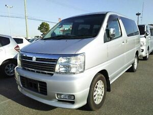 2002 Nissan Elgrand E50 Silver 4 Speed Automatic Wagon Taren Point Sutherland Area Preview
