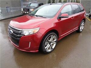 ** 2013 ** FORD ** EDGE ** SPORT ** AWD ** ONLY 18,415 KM **