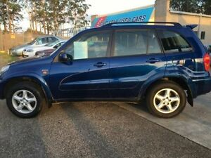 2001 Toyota RAV4 ACA21R Cruiser Blue Automatic Wagon Wauchope Port Macquarie City Preview