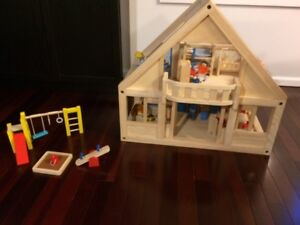 Plan Toys Wooden Doll House