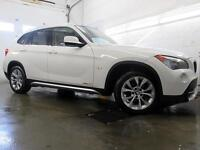2012 BMW X1 xDrive28i BLANC CUIR TOIT PANORAMIQUE 92,000KM