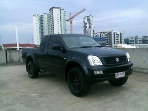 2006 Holden Rodeo RA MY06 LX Space Cab Black 5 Speed Manual Utility Southport Gold Coast City Preview