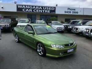 2003 Holden Commodore VY SS Acid Green 4 Speed Automatic Utility