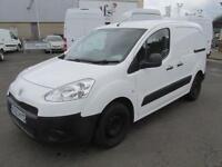 Peugeot Partner L1 850 S 1.6 Hdi 92PS Van DIESEL MANUAL WHITE (2013)
