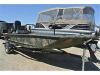 Great jon boat w/115 outboard jet! Call Tristan today!