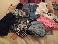 bundle of girls clothing size 3