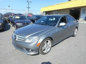 MERCEDES-BENZ C300 4MATIC 2009 ( BLUETOOTH, TOIT OUVRANT )