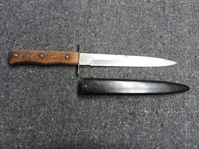 WWII GERMAN LUFTWAFFE COMBAT FIGHTING KNIFE-LUFTAMT 5 MARKED-ORIGINAL-EXCELLENT