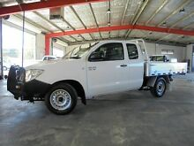2010 Toyota Hilux GGN15R MY10 SR Xtra Cab White 5 Speed Automatic Utility Welshpool Canning Area Preview