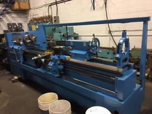 "STANKO Model 16K25x2000, 20""x80"" Lathe, Power Feed and Rapid to Compound"